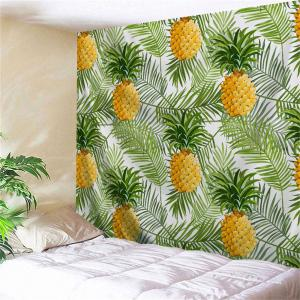 Palm Leaf Pineapple Throw Wall Hanging Tapestry