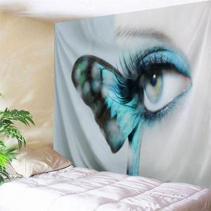 Butterfly Eye Wall Art Decor Tapestry Throw
