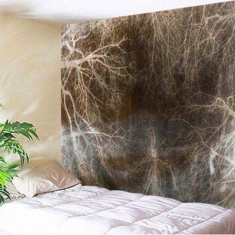 Arbre souterrain Tapis d'impression Décoration murale Suspension murale
