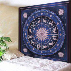 12 Constellations Print Tapestry Wall Hanging Art Decoration
