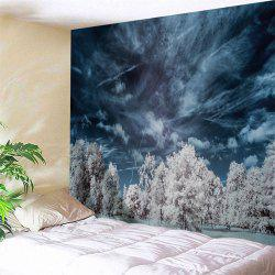 Mystery Forest Fabric Wall Blanket Tapestry -