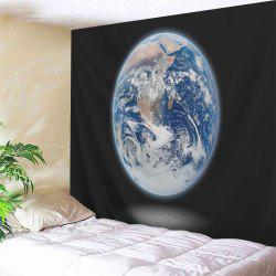 Moon Printed Wall Hanging Decorative Tapestry