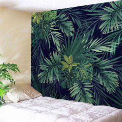 Wall Art Hanging Palm Plants Print Tapestry