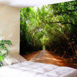 Forest Driveway Print Tapestry Wall Hanging Art Decoration -
