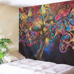 Tree Of Life Print Tapestry Wall Hanging Art Decoration -