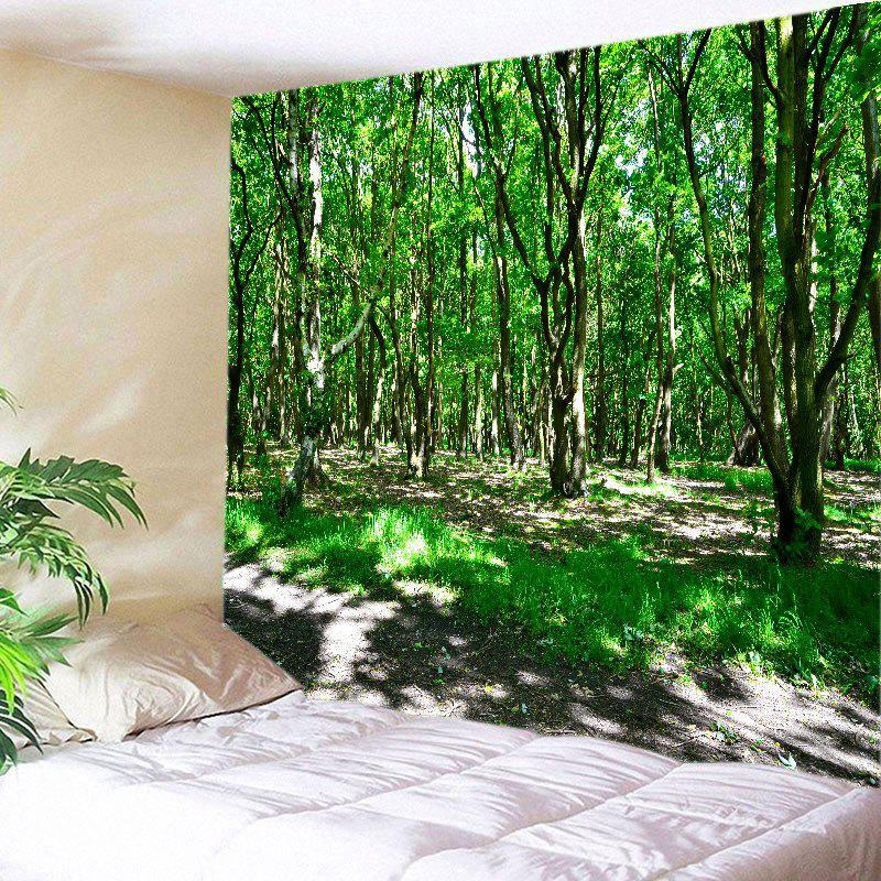 Shop Sunshine Forest Print Tapestry Wall Hanging Art Decoration
