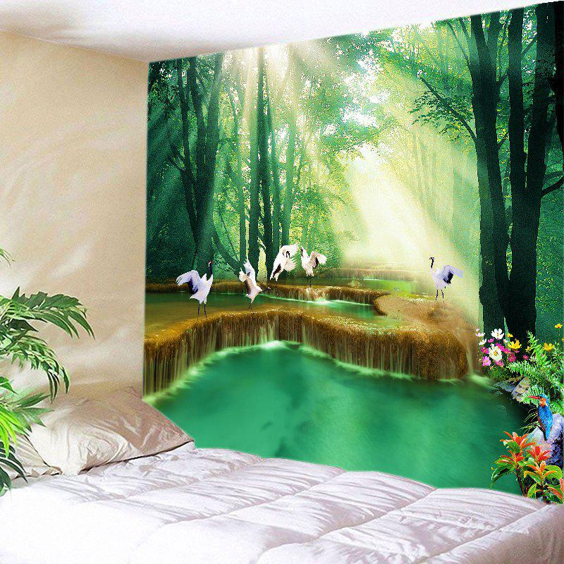 Discount Forest Falls Print Tapestry Wall Hanging Art Decoration