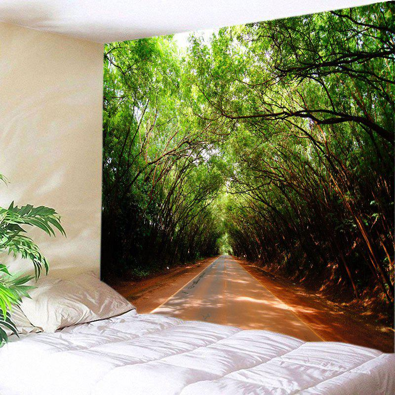 Fashion Forest Driveway Print Tapestry Wall Hanging Art Decoration