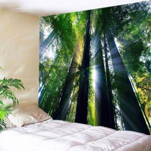 Sunlight Forest Print Tapestry Wall Hangings Art Decoration