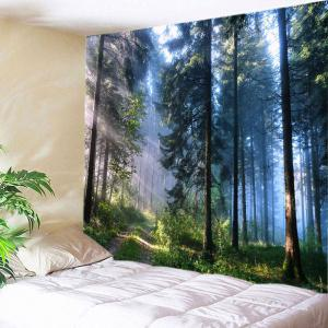 Forest Pathway Print Tapestry Wall Hanging Decoration