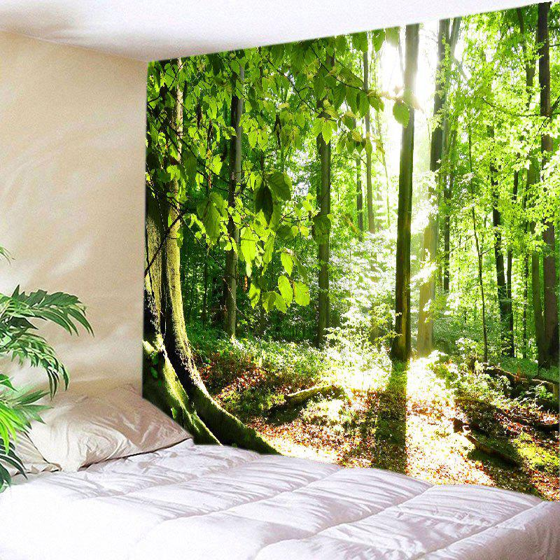 Shops Forest Sunshine Print Tapestry Wall Hanging Decoration