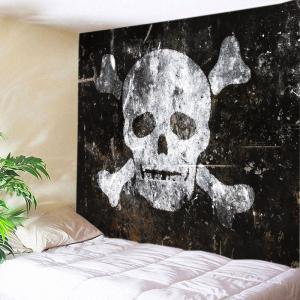 Skull Old Wall Print Tapestry Wall Hanging Art Decoration