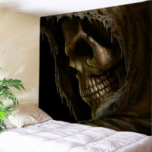 Cloak Skull Print Tapestry Wall Hanging Art Decoration