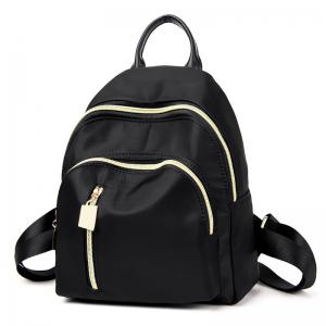 Nylon Top Handle Stitching Backpack