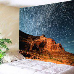 Mountain Meteor Shower Print Tapestry Wall Hanging Art Decoration