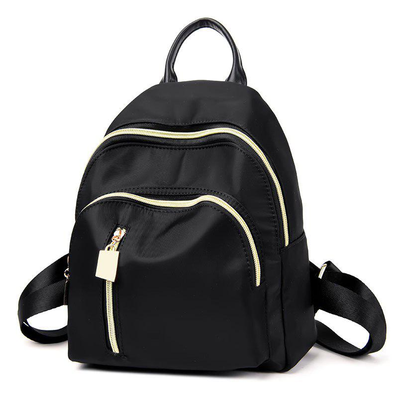 Online Nylon Top Handle Stitching Backpack