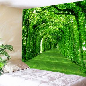 Trees Pathway Print Tapestry Wall Hanging Art Decoration