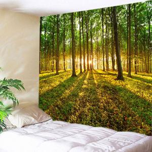 Sunshine Forest Lawn Print Tapestry Wall Hanging Art Decoration