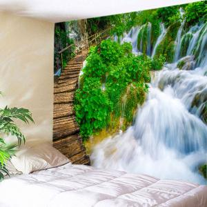 Waterfall Path Print Tapestry Wall Hanging Art Decoration