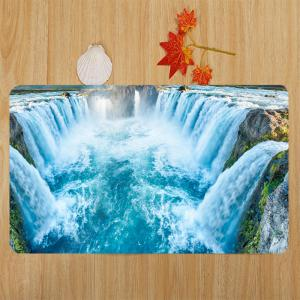 Waterfall Pattern Ensemble de toilette 3 pcs -
