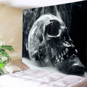 Skull Reeky Print Tapestry Wall Hanging Art Decoration