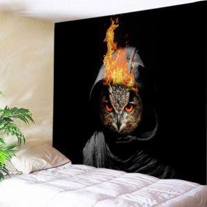 Cloak Cat Print Tapestry Wall Hanging Art Decoration
