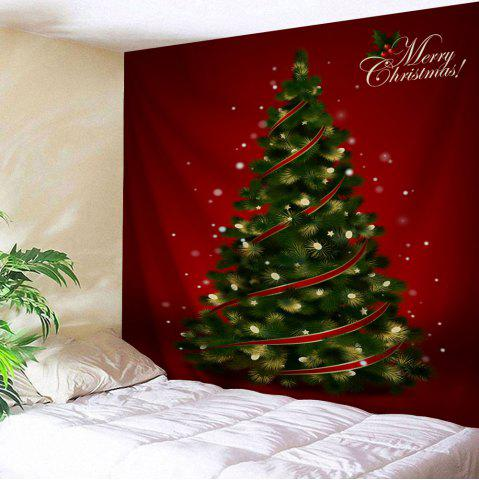 Hot Wall Hanging Decoration Christmas Tree Print Tapestry