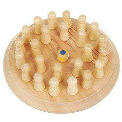 Funny Wooden Classical Education Chess Toy -