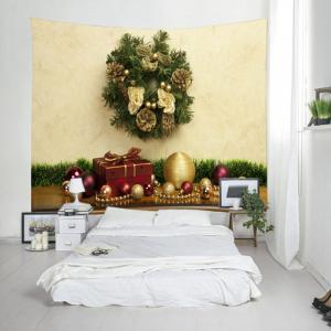 Bijoux de Noël Gift Print Tapestry Wall Hanging Decoration -
