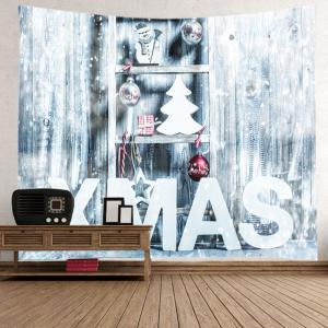 Xmas Snow Print Tapestry Wall Hanging Art Decoration -