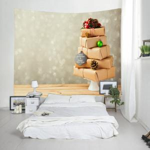 Merry Christmas Gifts Print Tapestry Wall Hanging Art Decoration -