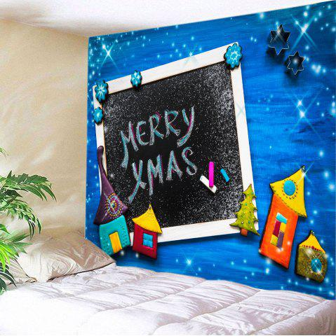 New Merry Xmas Print Tapestry Wall Hanging Art Decoration