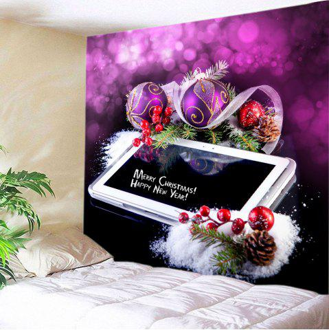 Outfits Christmas Panel Computer Print Tapestry Wall Hanging Art Decoration - W59 INCH * L51 INCH COLORMIX Mobile