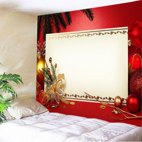 Hot Christmas Decorations Print Tapestry Wall Hanging Decor RED W59 INCH * L51 INCH