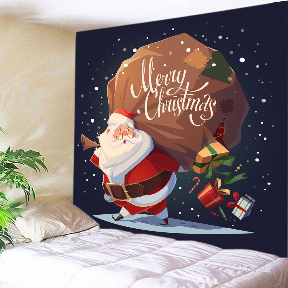 Buy Merry Christmas Santa Gifts Print Tapestry Wall Hanging Decoration