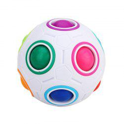 Creative Magic Rainbow Ball Anti-stress Jigsaw Puzzle Toy -