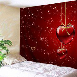 Valentine's Day Heart Starlight Print Tapestry Wall Hanging Art Decoration -
