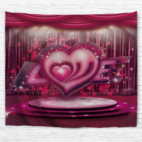 Store Love Stage Pattern Valentine's Day Wall Art Tapestry