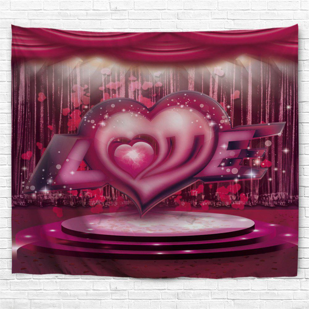 Shop Love Stage Pattern Valentine's Day Wall Art Tapestry