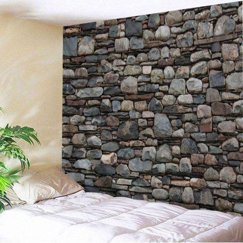 Shops Stones Wall Pattern Tapestry Wall Hanging Art