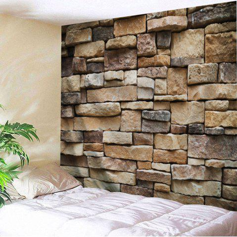 Unique Stones Brick Wall Pattern Tapestry Hanging Decoration