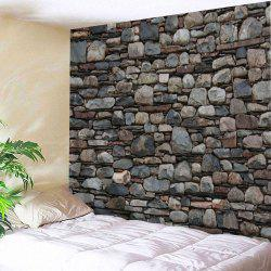 Stones Wall Pattern Tapestry Wall Hanging Art -