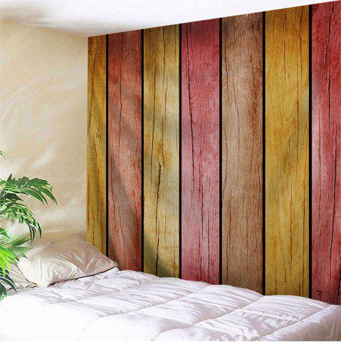 Affordable Rainbow Wood Board Printed Wall Art Decor Hanging Tapestry