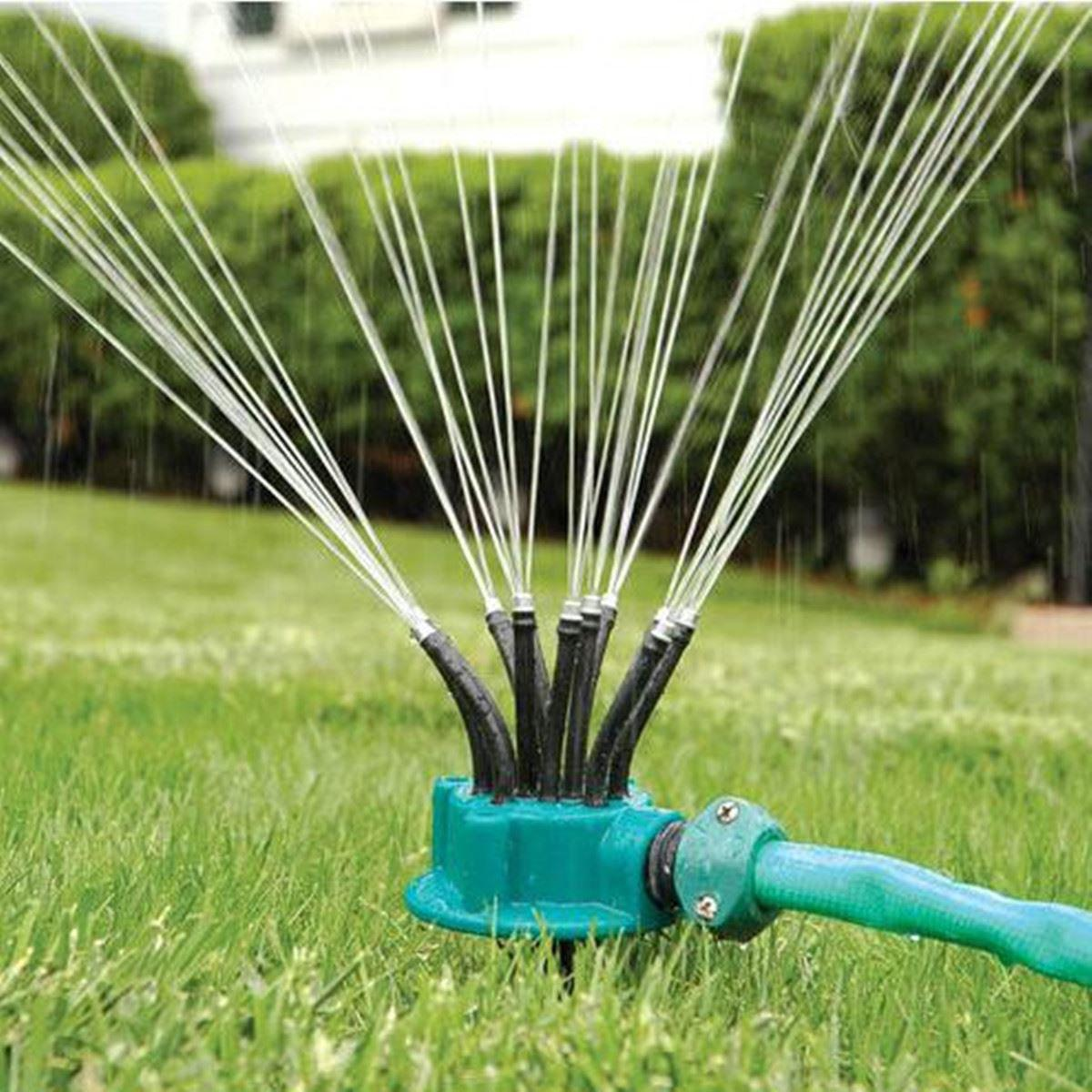 Hot Lawn Sprinkler System - Water Garden Sprinkler Head - Outdoor Automatic Sprinklers for Lawn Irrigation System Spot Sprinkler for small to medium area watering