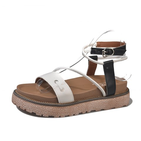Store Leisure Outdoor Crisscross Ankle Strap Sandals