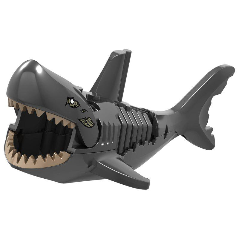 Shops Building Blocks Mini Shark Model Toy for Children