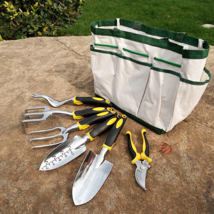 Chic Gardening Fitting for Home Flower Plant 6pcs with Storage Bag