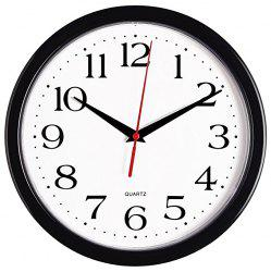 12 inch Creative Simple Number Mute Quartz Wall Clock -