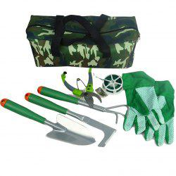 Gardening Fitting for Home Flower Plant 7pcs with Storage Bag -