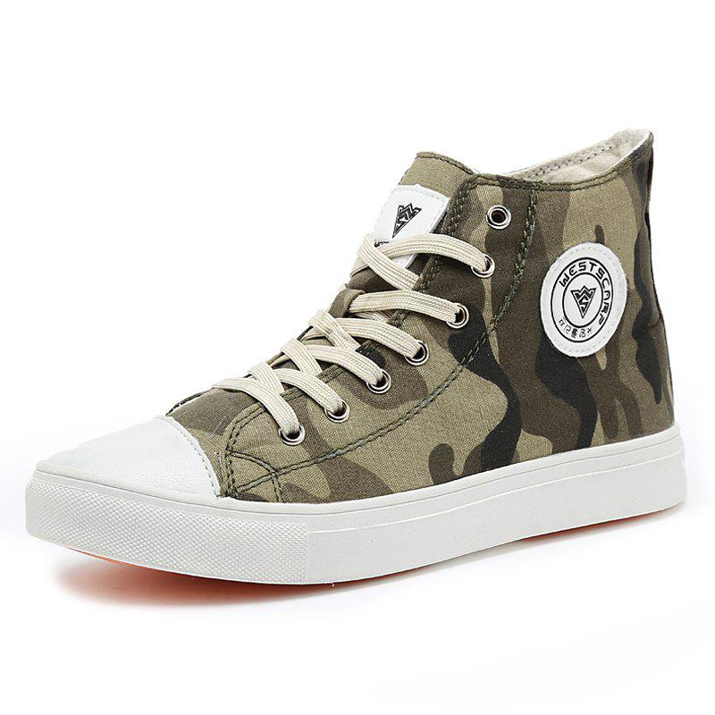 Discount Men Personalized Lace-up Causal Shoes